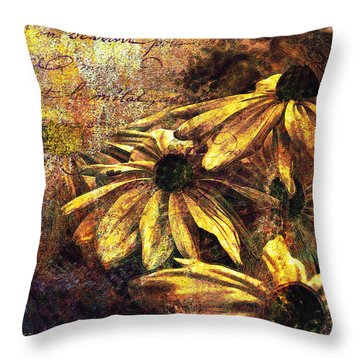 Daisy Daze Throw Pillow