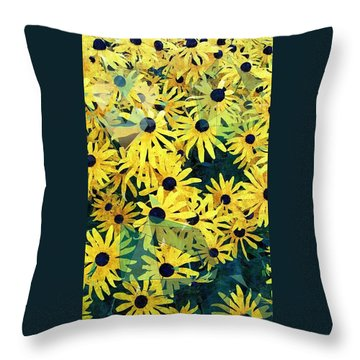 Daisy Do Throw Pillow