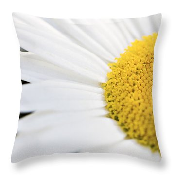 Daisy Throw Pillow by Marlo Horne