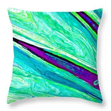 Daisy Petal Abstract 2 Throw Pillow