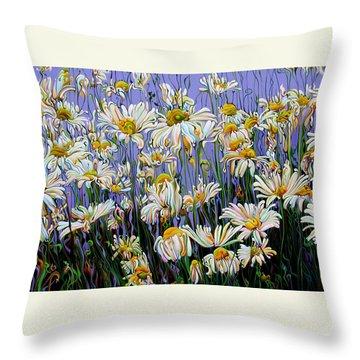 Daisy Spirit Sundance Throw Pillow