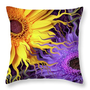 Daisy Yin Daisy Yang Throw Pillow by Christopher Beikmann