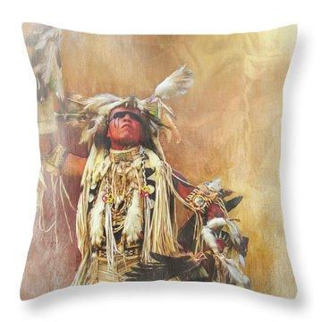 Dakota Sioux Throw Pillow