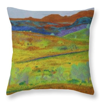 Dakota Territory Dream Throw Pillow