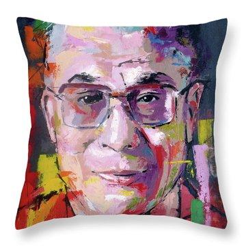 Dalai Lama Throw Pillows