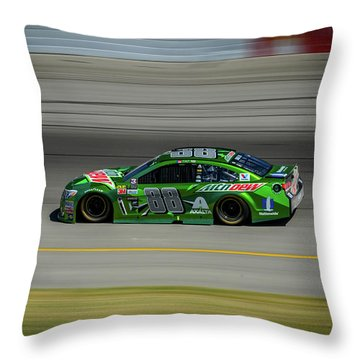 Dale Earnhardt At Mis 2017 Throw Pillow