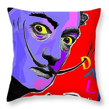 Dali Dali Throw Pillow