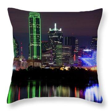 Dallas Cowboys Star Night Throw Pillow