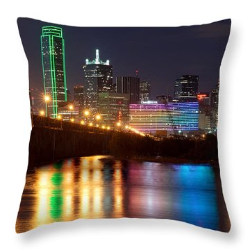 Dallas Reflections Throw Pillow
