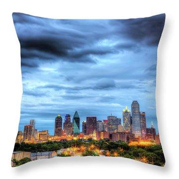 Texas Photographs Throw Pillows