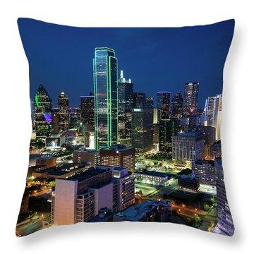 Dallas Vista  Throw Pillow