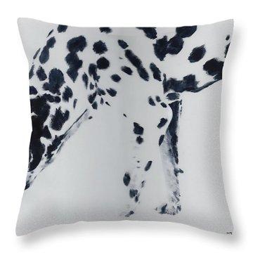 Dalmation Throw Pillow