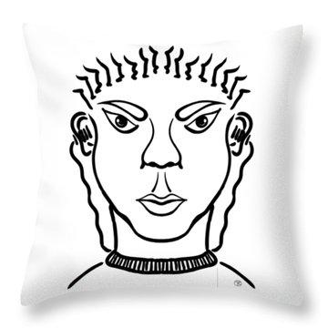 Damiao Throw Pillow