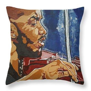 Damien Escobar Throw Pillow