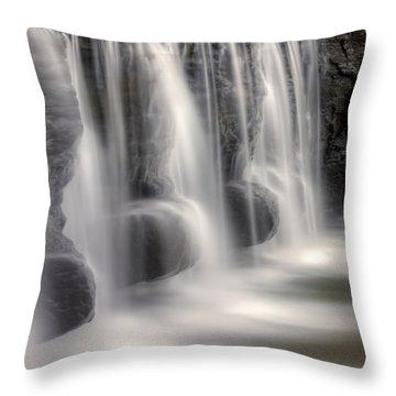 Dams Edge Throw Pillow