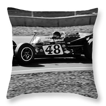 Dan Gurney For The Win Throw Pillow