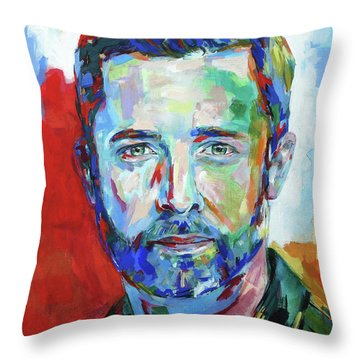 Dan Maag Throw Pillow by Koro Arandia