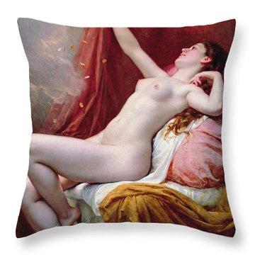 Danae Throw Pillow by Alexandre-Jacques Chantron