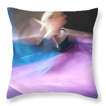 Dance Ballerina Throw Pillow