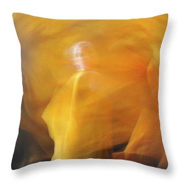 Dance Of Fire Throw Pillow