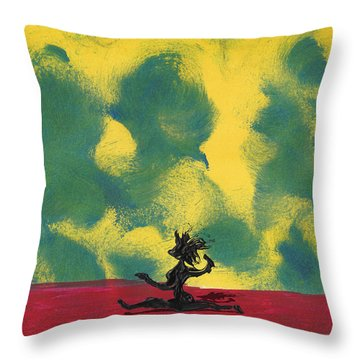 Dance Art Dancer Throw Pillow