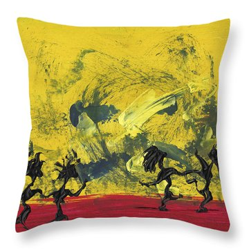 Dance Art Dancing Couple 22 Throw Pillow