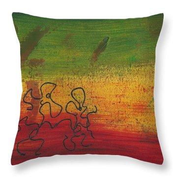 Dance Art Dancing Couple 28b Throw Pillow