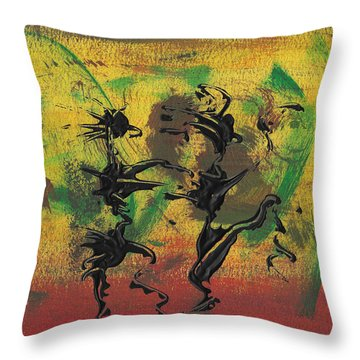 Dance Art Dancing Couple Xi Throw Pillow