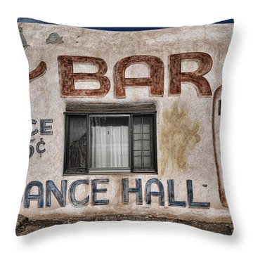 Dance Hall Throw Pillow