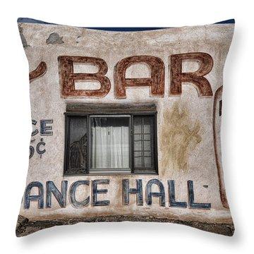 Dance Hall Throw Pillow