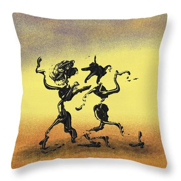 Dance I Throw Pillow