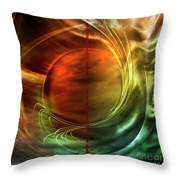 Dance In Color Symphony Throw Pillow