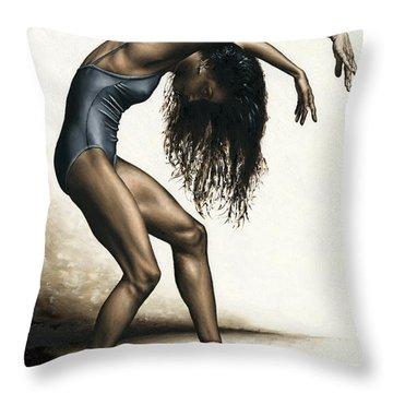 Dance Intensity Throw Pillow