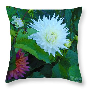 Dance Of Life Throw Pillow