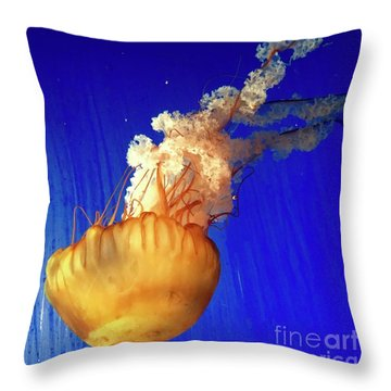 Dance Of The Jelly Throw Pillow