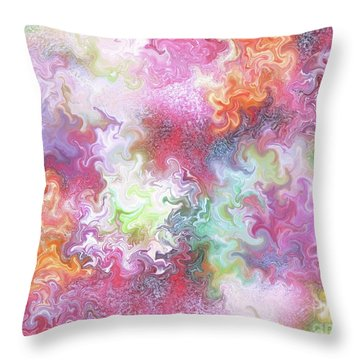Dance Of The Sky Gods Throw Pillow