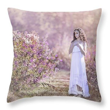 Dance Of The Sugar Plum Fairy Throw Pillow
