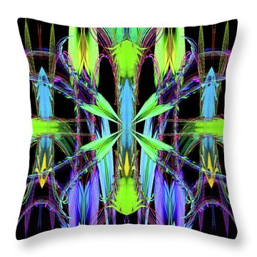 Dance Of The Sugar Plum Fairy Throw Pillow