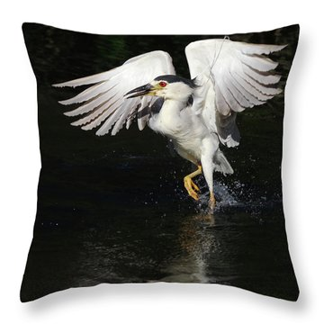 Dance On Water. Throw Pillow