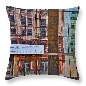 Throw Pillow featuring the photograph Dance by Skip Willits