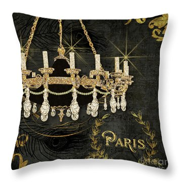 Throw Pillow featuring the painting Dance The Night Away 2  by Audrey Jeanne Roberts