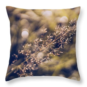 Dance With Lights Throw Pillow