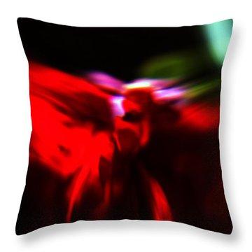 Dancing Angels Throw Pillow by Scott Wyatt