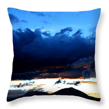 Dancing Clouds Throw Pillow