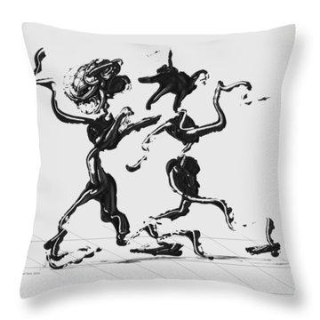 Dancing Couple 1 Throw Pillow
