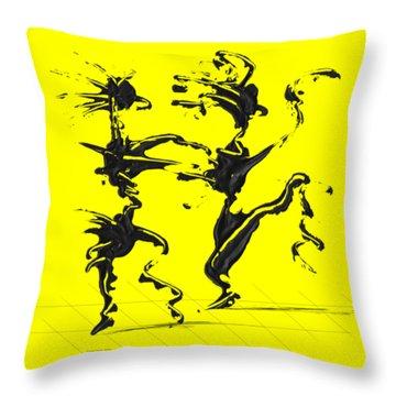 Dancing Couple 4 Throw Pillow