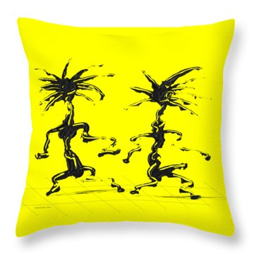 Dancing Couple 5 Throw Pillow