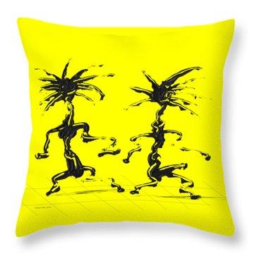 Dancing Couple 5 Throw Pillow