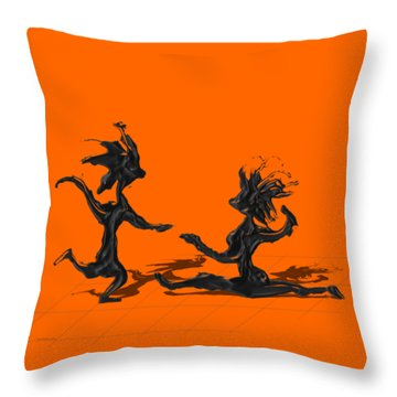 Dancing Couple 9 Throw Pillow