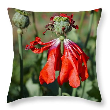 Dancing Gal Throw Pillow